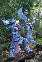Master Tyrande (HoTS) II by Headclouds