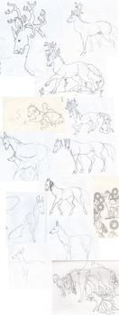 WIPs At The Moment by AgentDarkhorse