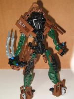lego bionicle - archer 1 by retinence