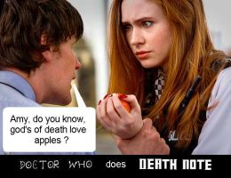 Doctor Who does Death Note by DoctorWhoOne
