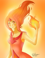Flame princess by Nasuki100