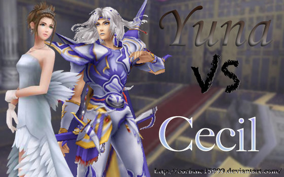 Dissidia 012 Yuna vs Cecil by FancyStories