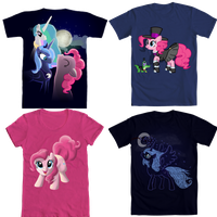 T-Shirt contest by DeathPwny