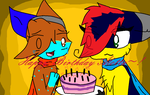 Happy  B-day Alotta by QuitheQuilava556