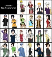 Konohas's Next Generation by Kaschra