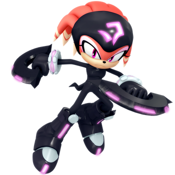 Legacy Shade The Echidna Render (Maskless) by Nibroc-Rock