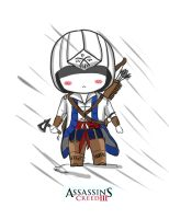 ASSASSIN'S CREED III  poster by Mcpricorn