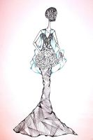 Fashion illustration by AngelinaDevillina