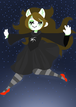 hey jade do the space thing by taelvea