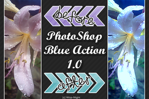 PS (Blue) Action 1.0 by Wisp-Night