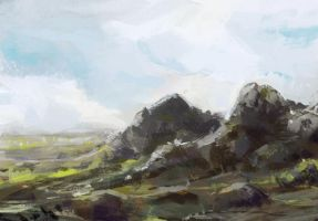 Landscape Sketch by Koily