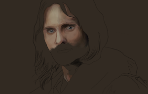 Aragorn Part colour by HowlingSoulWolf
