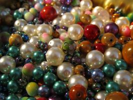 Pearls and beads by Santian69