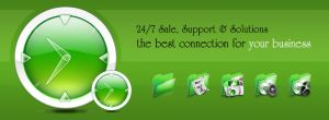 Computer support 24/7 by w3soul