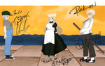 Shining Hearts Trio Autographed by quamp