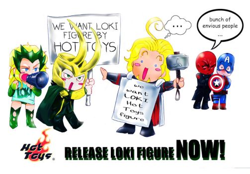 Release Loki Hot Toys figure campaign by liaartemisa