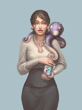 Octopus by artkav