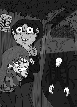 Inktober Day 6 Hidden by Colorfulmoongato