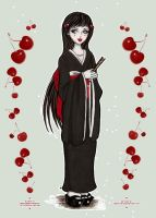 . cherry cherry lady . by Berrycake