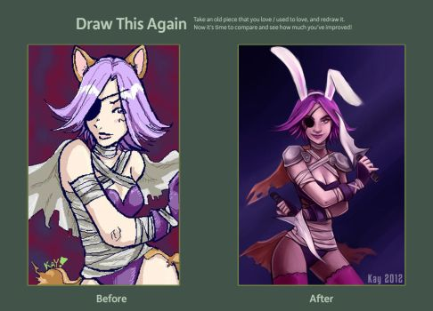 Draw this again! by Kayley