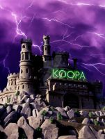 Castle of Koopa by shaunanakin