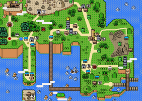 Kanto SMW Map-finished by Zapdosblitz