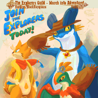 PMDU Theme - The Explorers - March into Adventure! by byona