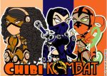 Unused Colors in MK for Ninjas by DeVanceArt