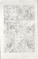 The Robber and the Monkey Page 1 by Jonny-Aleksey