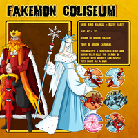 Fakemon Coliseum: Gym leader 5 - Magnus + Hailey by MTC-Studios