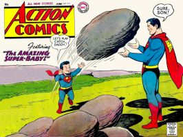 Action Comics 217 by Superman8193