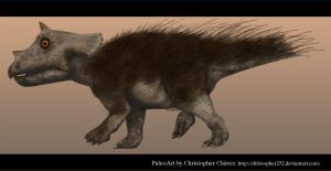 Pollito Triceratops by Christopher252