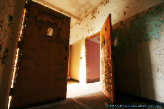 Ward Doors by cathedralsofdecay