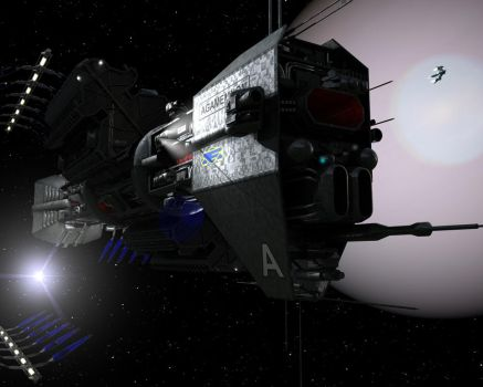 Babylon5 OMEGA CLASS DESTROYER by TMC-Deluxe