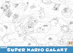MOSM - Super Mario Galaxy by LuigiStar445