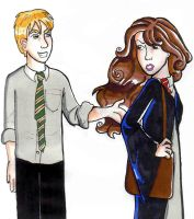 Draco and Hermione by bachel60