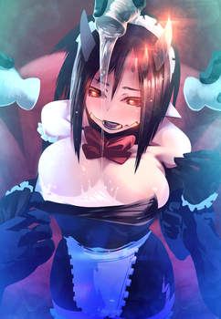 Demon Maid Abuse by Skello-on-sale