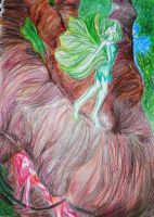 Nymphs by LSD-Dreams