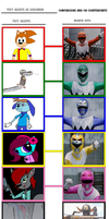 TUFF Agents as Gingaman by Eli-J-Brony