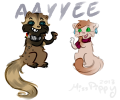 Request: Hayley and Pippy-AAAYYYYEEEEE by PippinPeanut