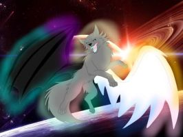 The Creator-Protector of the Universe by ShardianofWhiteFire