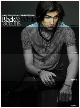 Black and White actions - by connectingourhearts