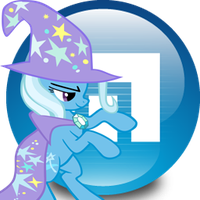 G-A-P Trixie- Maxthon Browser Icon by Shadowhedgiefan91