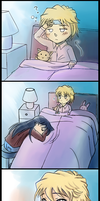Sick day comic by Kirite