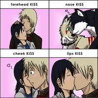 kiss meme by Ocrienna