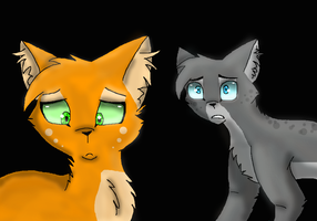 AshFur and SquirrelFlight: Dont walk away from me by xXInsaneKittyCatXx