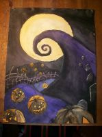 Nightmare Before Christmas by silent-assassin-XIII