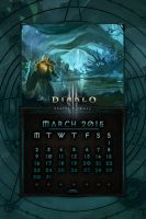 Calendar Mobile #5: March 2015 - EU Style by Holyknight3000