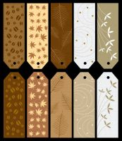 10 bookmarks remake by VintageWarmth