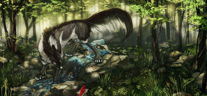 Mountain Forest by Tatchit
